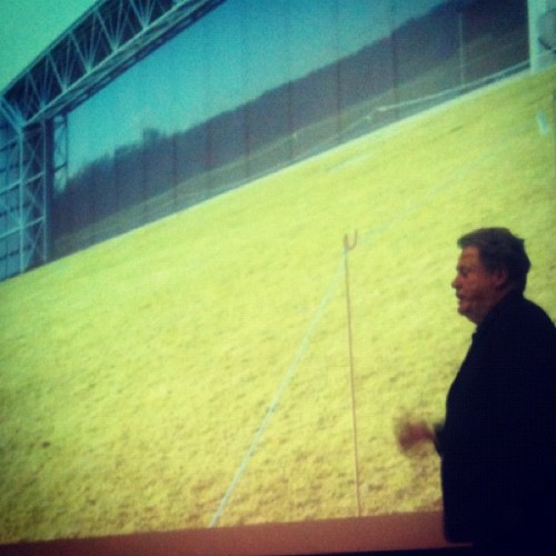 11.07 #eleveneleven #usc #steele #normanfoster #lecture  (Taken with instagram)