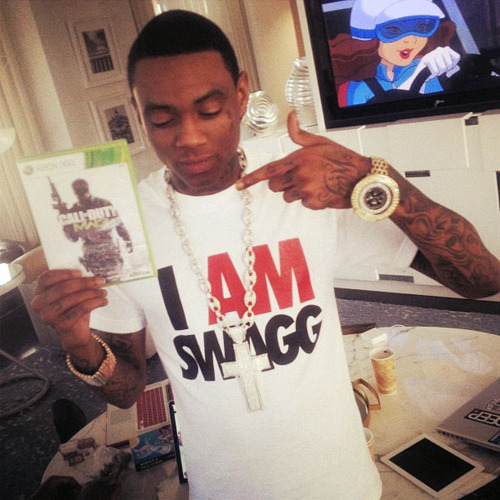 Even 'Soulja Boy' had to get his hands on  MW3!