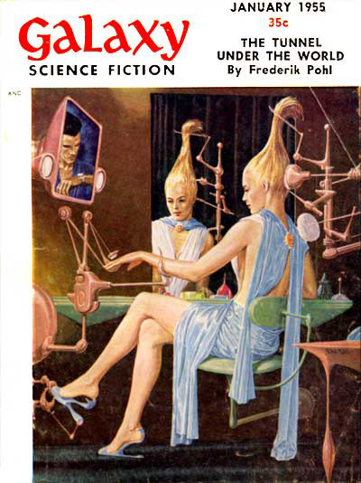 The Tunnel Under The World by Frederik Pohl This is classic science fiction at it's best. It takes about an hour and a half to read this story and it will be time well spent.