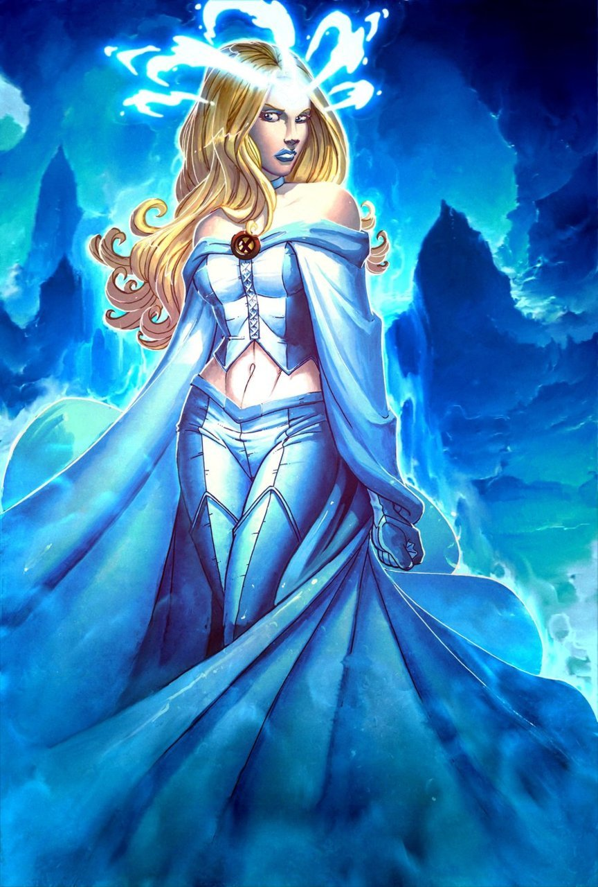 deaddave:  Emma Frost - White Queen by =windriderx23