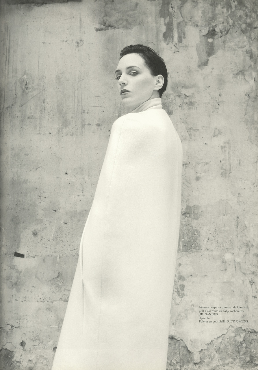 nothing elsestyling haider ackermann photography sybille walter encens nº20, fall–winter 2007–2008