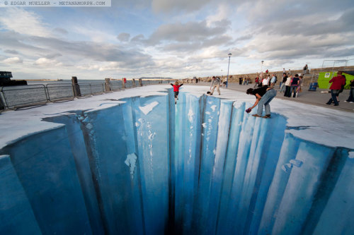 The Crevasse Street Graffiti Art by Edgar Muller