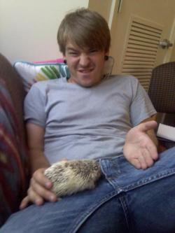 marcus gets a blow job from a hedgehog