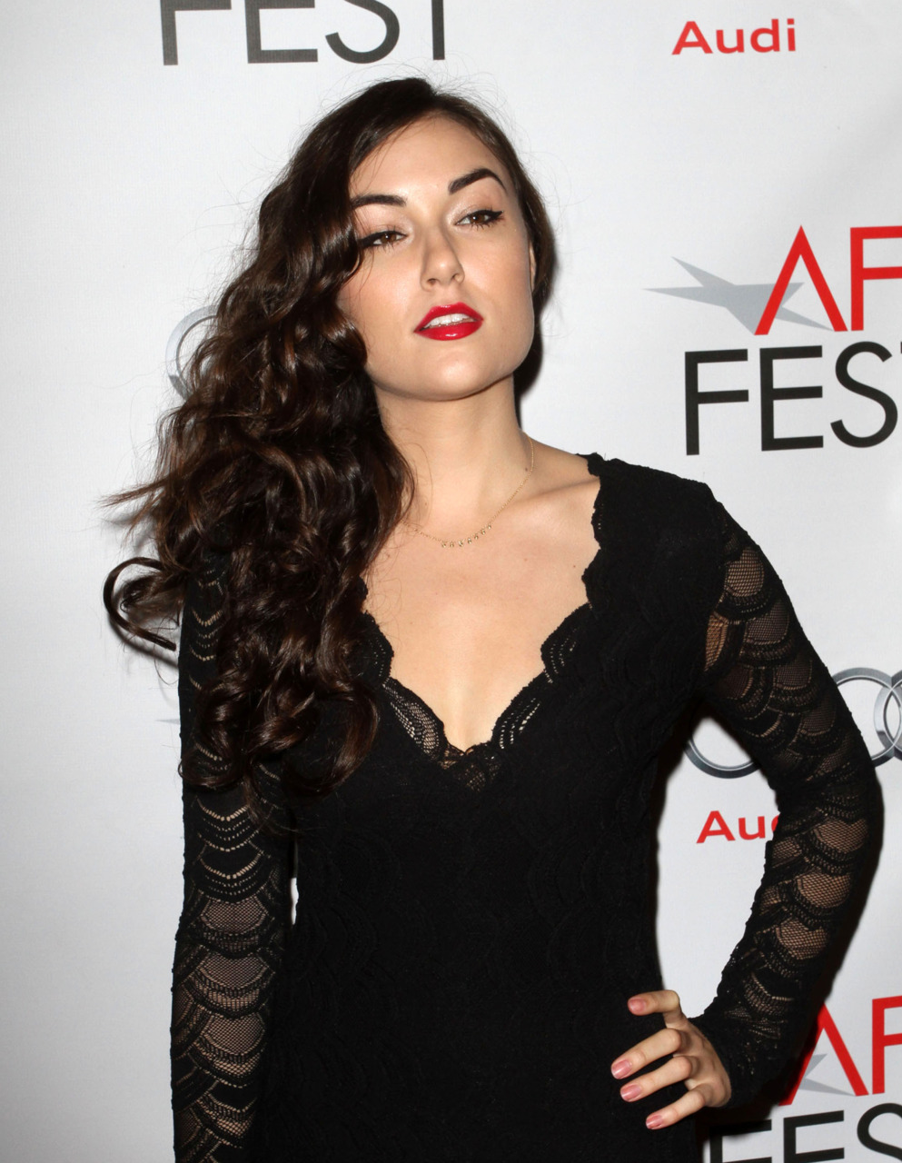 Sasha Grey at the AFI FEST screening of I Melt With You, November 7th