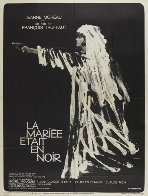 "Movie Poster of the Week: ""The Bride Wore Black"""