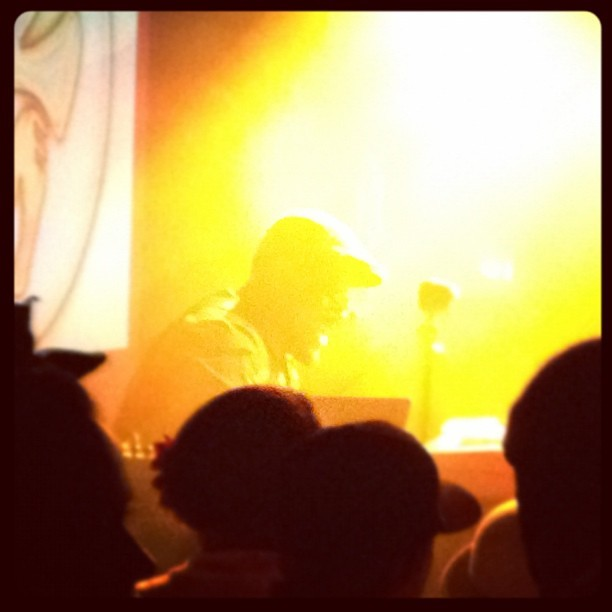 Thundercat at LPR.  (Taken with instagram)