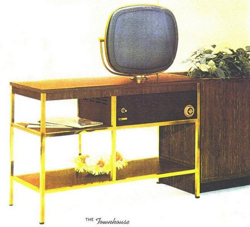 1960 Philco Predicta Townhouse TV by kca2000 on Flickr.