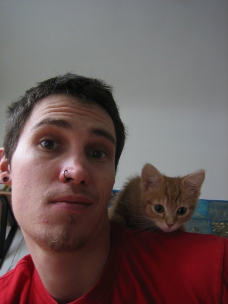 i like this guy. and this photo. and the cat. -consonancenvowels