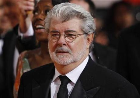 "George Lucas is confused as to why his body didn't win ""Best Supporting Actor"" for its tireless years of supporting his neck."