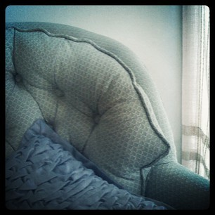*Comfy Spot* photography, iPhone, Instagram by R. Sherinian