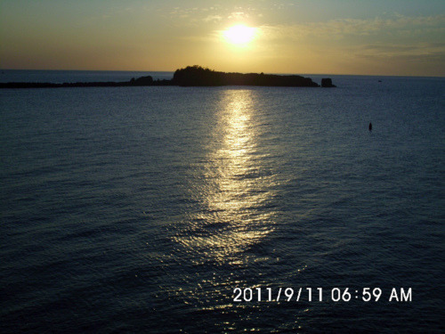 0796:    Sun rise over Lake Superior …..