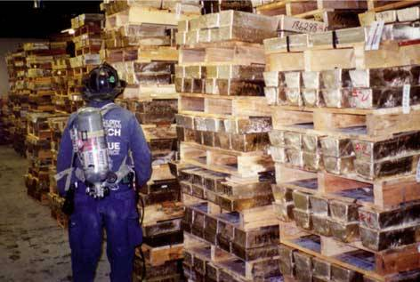 Gold Bullion in Vault Below Ground Zero in WTC4