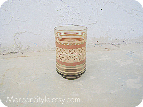 80's Libbey Lattice Juice Glass by mercanstyle http://etsy.me/vNNfV7