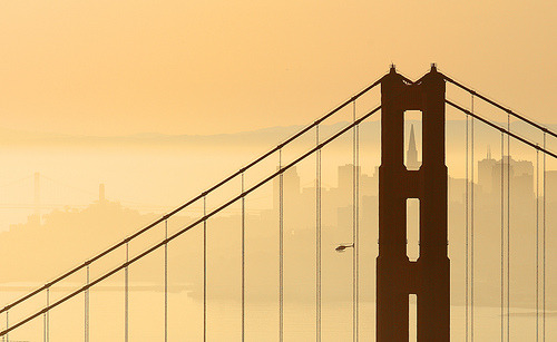 myedol:  San Francisco Sunrise (by arka02)
