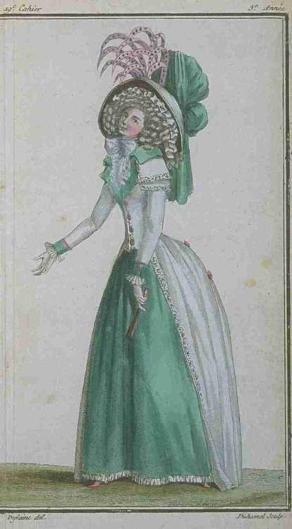 Magasin des Modes, May 1788.  LOVE
