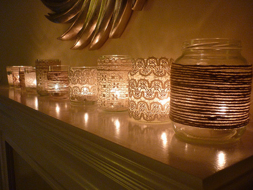 craftyscientist:  (via Annaboo's house: Vintage Votives)
