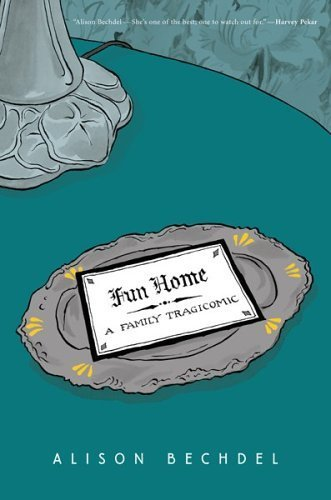 "Alison Bechdel's Graphic Novel 'Fun Home' to Become a Stage Musical  Great talent is converging with playwright Lisa Kron and composer  Jeanine Tesori adapting Alison Bechdel's critically lauded graphic novel  Fun Home to a stage musical via the Sundance Institute Theater Program. Bechdel created a spot-on microcosm of lesbian life, politics, love  and pop culture with her long-running comic strip ""Dykes to Watch Out  For"" from 1983 – 2008, and while that strip was certainly  semi-autobiographical, her graphic novel Fun Home focused on  her upbringing in her home that housed the Bechdel Funeral Home and on her relationship with her father. ""My father and I grew up in the same small Pennsylvania town and he  was gay and I was gay and he killed himself and I became a lesbian  cartoonist,"" Bechdel's character says in Fun Home.  This is one of my favorite books (graphic novel) and if you haven't read it I can't recommend it enough.  I expect a movie or TV show to come from this book eventually, but never imagined a musical.  I'd love to see it."