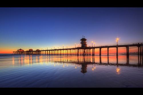 pier in the rainbow by Eric 5D Mark II on Flickr.