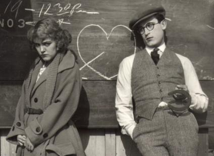 the-soft-skin:  Mildred Davis and Harold Lloyd