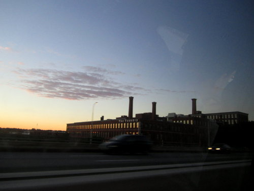 The Factory Rhode Island to Salem Ma last fall :]
