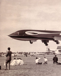 "xplanes:  ""WB771 Victor 1st prototype Farnborough 1953"" (via this great album)"