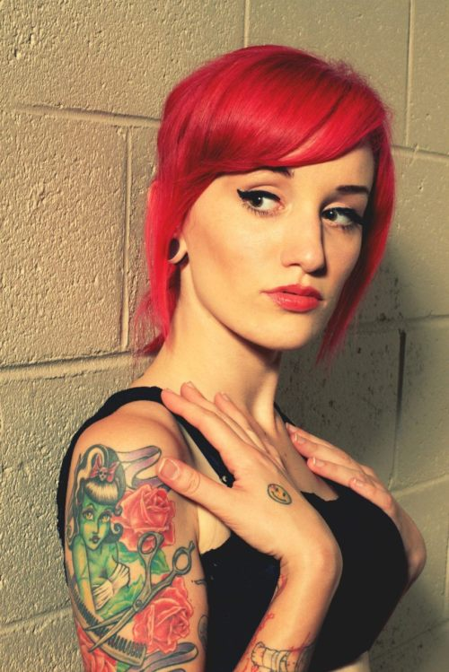 Badass Tattoo Tuesday fuckyeahgirlswithtattoos:  Model: Karinna Atleekarinnatlee.tumblr.com