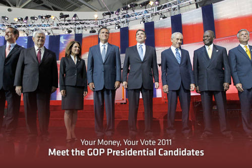 LIVE TONIGHT: The Republican Presidential Debate  November 9th | 8:00 pm ET  Learn more about the candidates Full Coverage: The Debate Source: AP