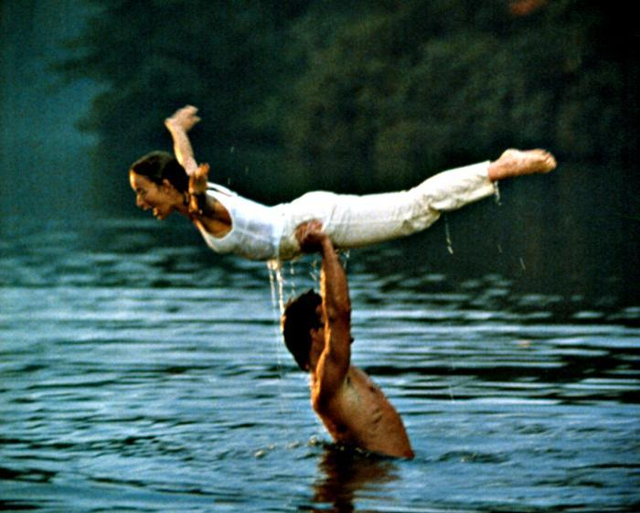 DIRTY DANCING, Patrick Swayze, Jennifer Grey, 1987