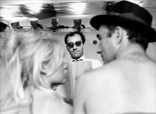On Set: Le Mepris, Jean-Luc Godard 1963