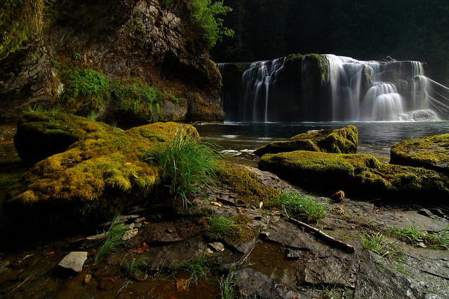 Lower Lewis Falls by Don Jensen on Flickr.