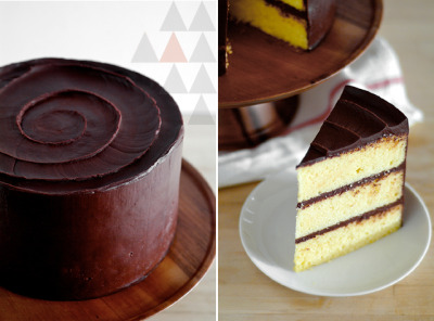 "stefansistersbridal:  Today at the Stefan Sisters ""DIY: Yellow Layer Cake"" Visit us for more!"