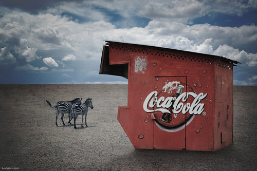 Capitalism is Everywhere by Ben Heine on Flickr.