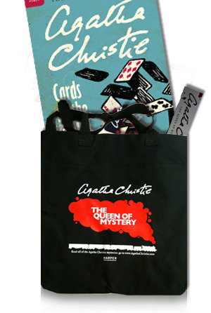 Win an Agatha Christie prize pack: http://cineastesbookshelf.blogspot.com/2011/11/review-and-giveaway-agatha-christie.html