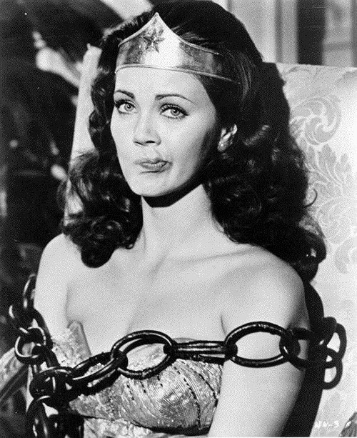 quienesesachica:  Lynda Carter as Wonder Woman.