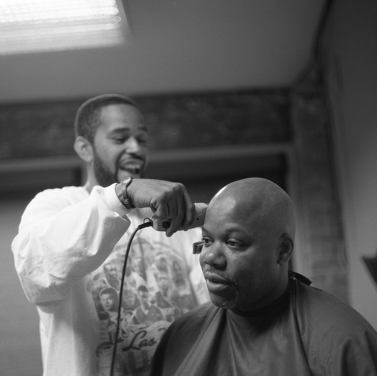Oh I also kicked with Too $hort the other night in his studio while he got his hairs did. More on that later. Oakland, CA | 2011