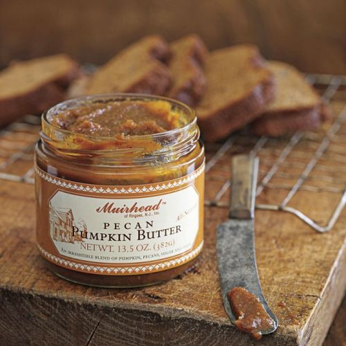 I recently bought this Pecan Pumpkin Butter from Williams-Sonoma and made these bars. They are the perfect dessert bar and disappeared right away at work when I brought them in.