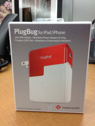 "Apple fans, prepare to drool over this badass ""Plugbug""."
