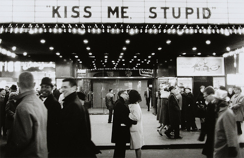 overboarddd:  New Year's Eve, NYC, 1965 (Kiss me, stupid) (by CCNY Libraries)
