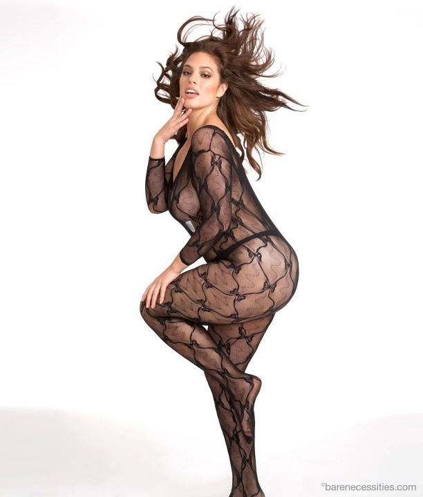 plusmodelmagazine:  Ashley Graham for Bare Necessities.. HOT!