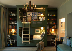 Built In Bunk Bed by Kristen Panitch Interiors