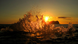 Sunset wave III by TG Clark (Ibiza Photo) on Flickr.