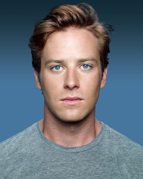 It just felt like kissing.  Armie Hammer on that kiss.