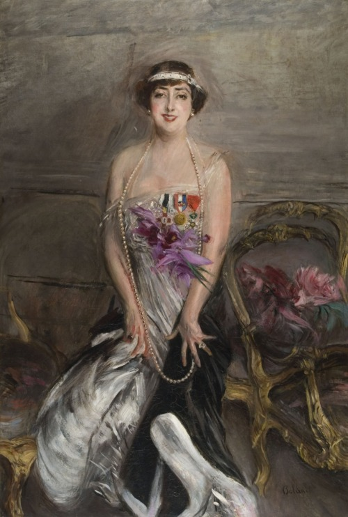 Madame Michelham, Giovanni Boldini, oil on canvas, 1913, 166x112.5cm, private collection