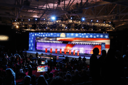 Learn more about each candidate before CNBC's Republican Debate at 8 ET Then join the conversation on Twitter @CNBC2012 or visit yourvoiceyourvote.cnbc.com