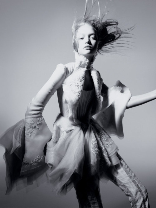 loveyoubabu:  Gemma Ward by Nick Knight