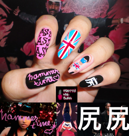 """NOW MAKE THAT MUTHAF*CKER HAMMERTIME""My Nicki Minaj / Big Sean - A$$ Nails…this vid goes hard, but Nicki kills it…Kiss my A$$ and my anus cuz it's finally famous bahahahaa"