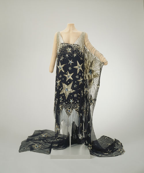 """Starry Night"" fancy dress, 1926, Hillwood Estate"