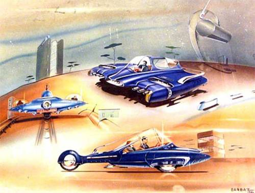 George Barbaz concept for Ford, 1946