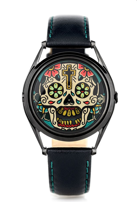 The Last Laugh Tattoo Edition watch by Mr Jones Watches