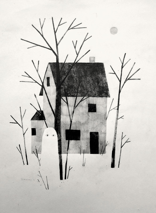 """House Ghost"" from the ghost show. Opens Tomorrow!"